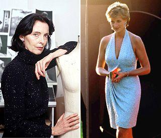 Catherine walker fashion designer 80