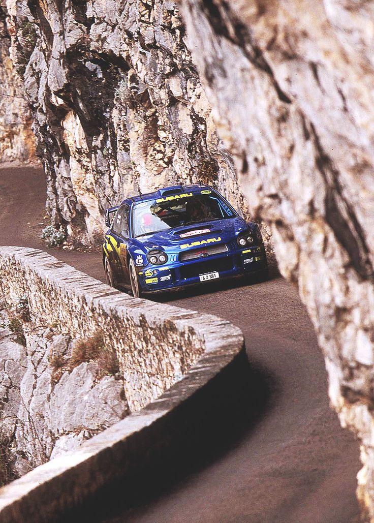 "therallyblog: "" Richard Burns / Robert Reid, Rallye Monte-Carlo 2001 """