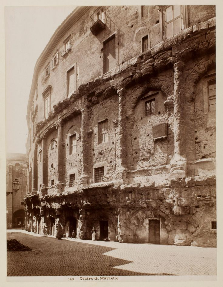 Teatro di Marcello | Works | James Anderson | People | George Eastman Museum