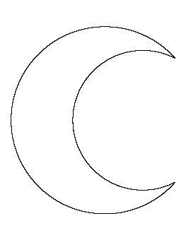 Crescent Moon Pattern