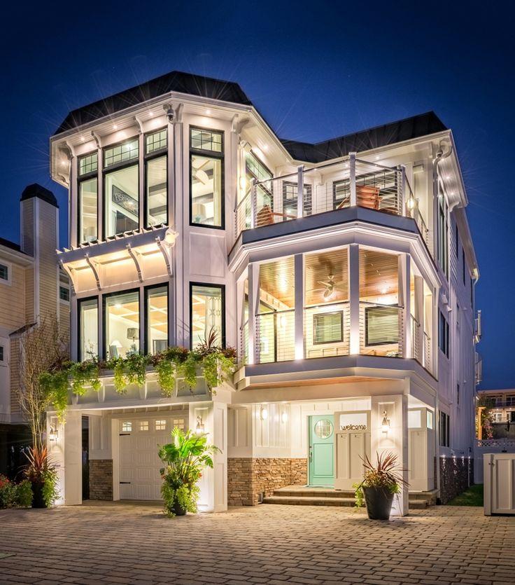 25+ best ideas about Beautiful beach houses on Pinterest ... - photo#22