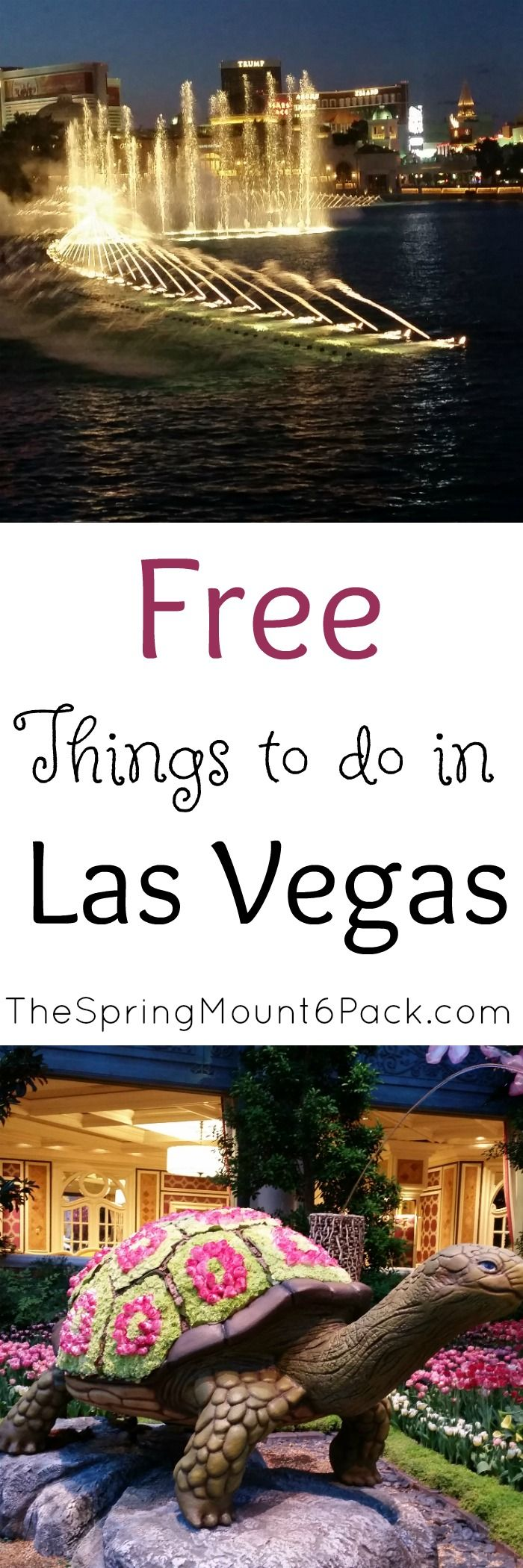 Heading to Las Vegas? Wondering what else there is to do besides gamble? Here are some free things to do in Las Vegas that you will love.
