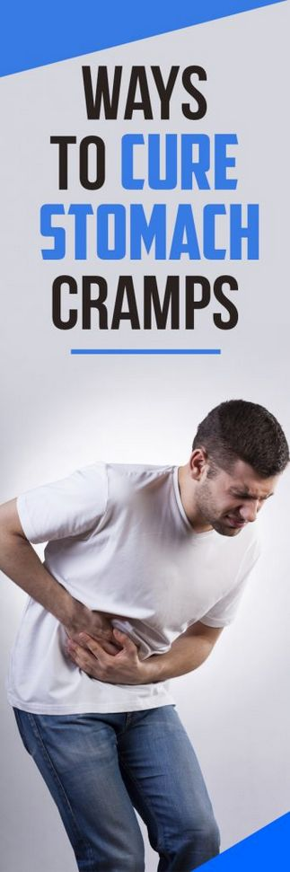 How to Cure STOMACH CRAMPS