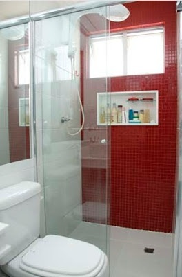 Construindo e arquitetando engenhosamente um sonho, com cimento de amor!: banheiro