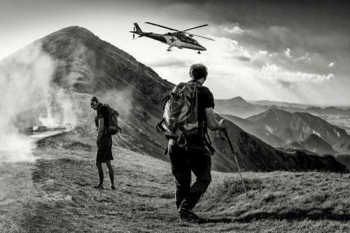 """mountain rescue . .""  by Matej Rumansky"