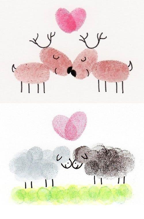 Una técnica de dibujo muy divertida y perfecta para niños de todas las edades es la de dibujar con las huellas dactilares. Los niños usarán los dedos para crear sus dibujos y los resultados quedan muy chulos. Aquí te contamos como hacerlos y varias ideas para dibujar.