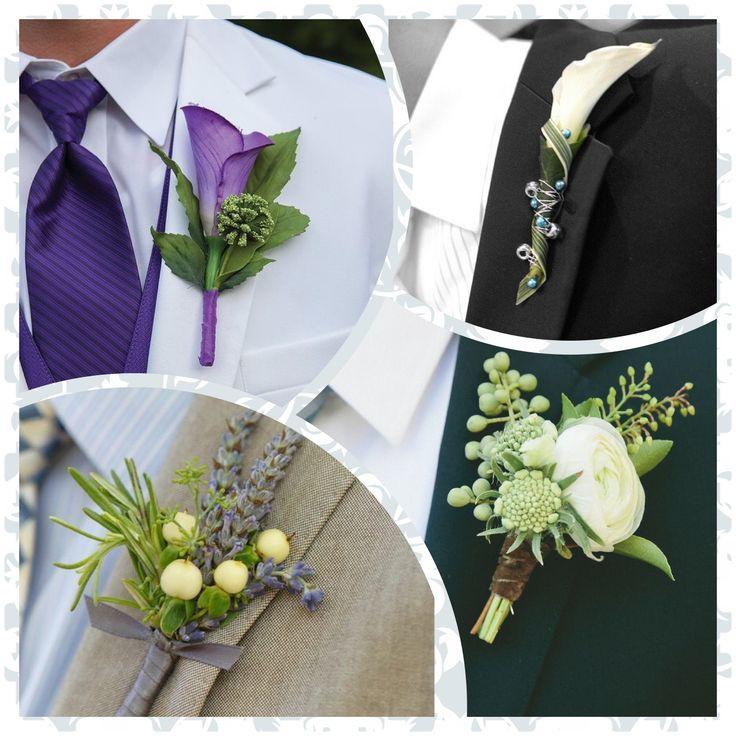 """La bottoniera è il """"fiore all'occhiello"""" che lo sposo indosserà nel #giornopiubello. Una piccola composizione di fiori, foglie e bacche che si appunta sul risvolto sinistro della giacca, vicino al cuore. #RosadEventi #matrimonio #agenziawedding #weddingplanner #bottoniera #occhiello"""