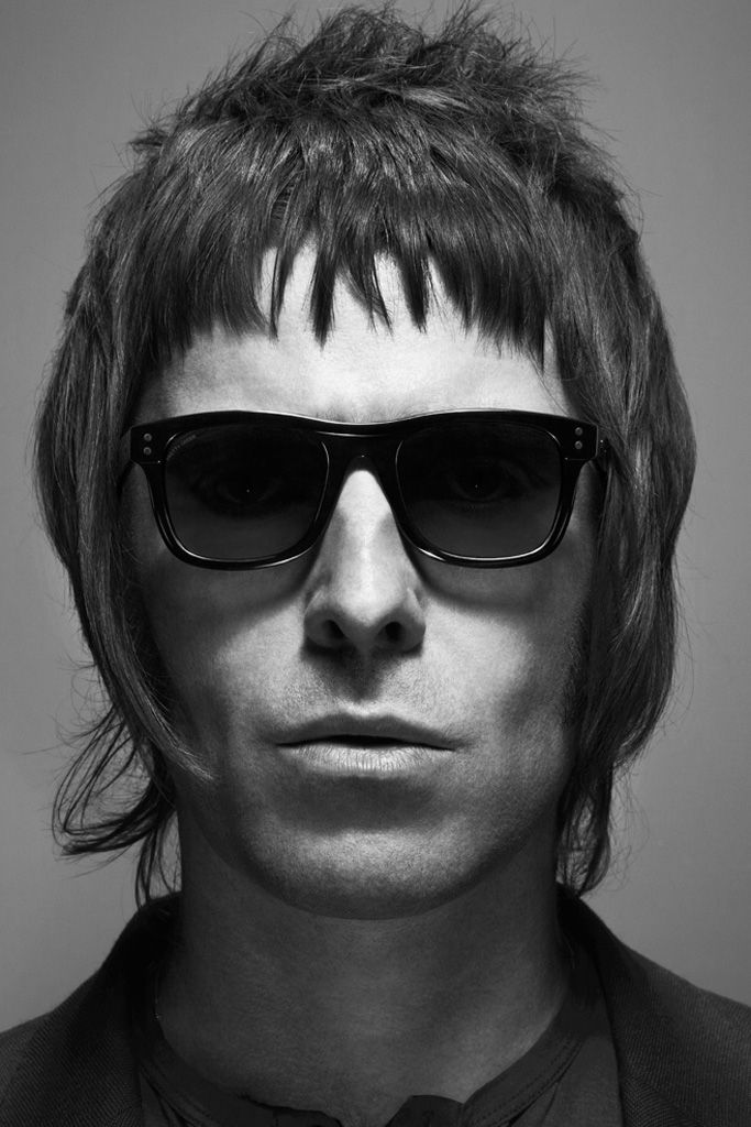 Pretty Green 2012 Eyewear Collection.  You can see more Liam Gallagher stories at: photo Tom Oxley