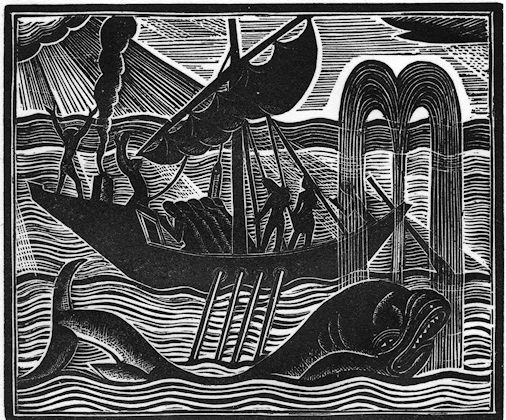 David Jones - from The Book of Jonah, 1926