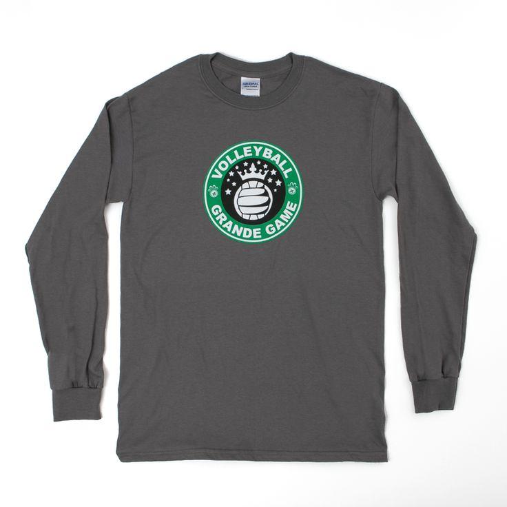 Grande Game Volleyball Long Sleeve Tee Shirt