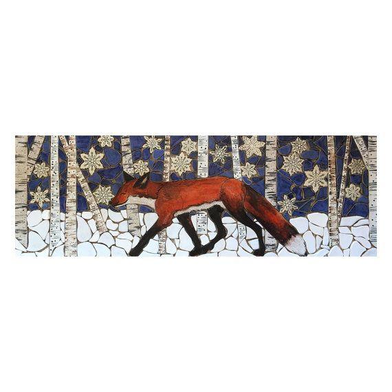 手机壳定制youth soccer cleats  Very cool hand crafted tile mosaic depicting a Red Fox trotting through the aspen grove on a winter day This mosaic was intended as a back splash