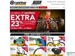 If you are planning to buy bikes or cycling related products, Nashbar is one of the popular stores to consider. Always buy their products online using Nashbar promo codes and claim some decent savings. Some of the products of Nashbar include bikes and their spares, cycling clothing and cycling gear. For all the Nashbar related promotions for the upcoming year 2017, please visit FreeShipping-Code.com
