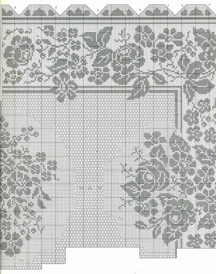 Большая-скатерть-для-стола крючок схема 2