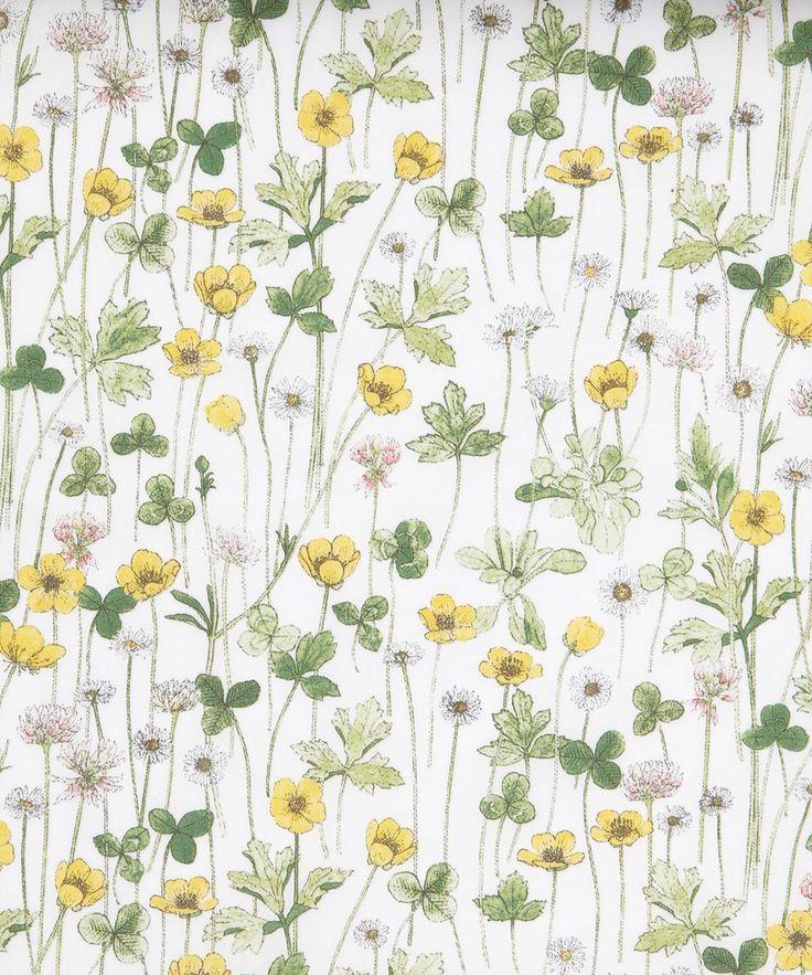小さな黄色の春の花