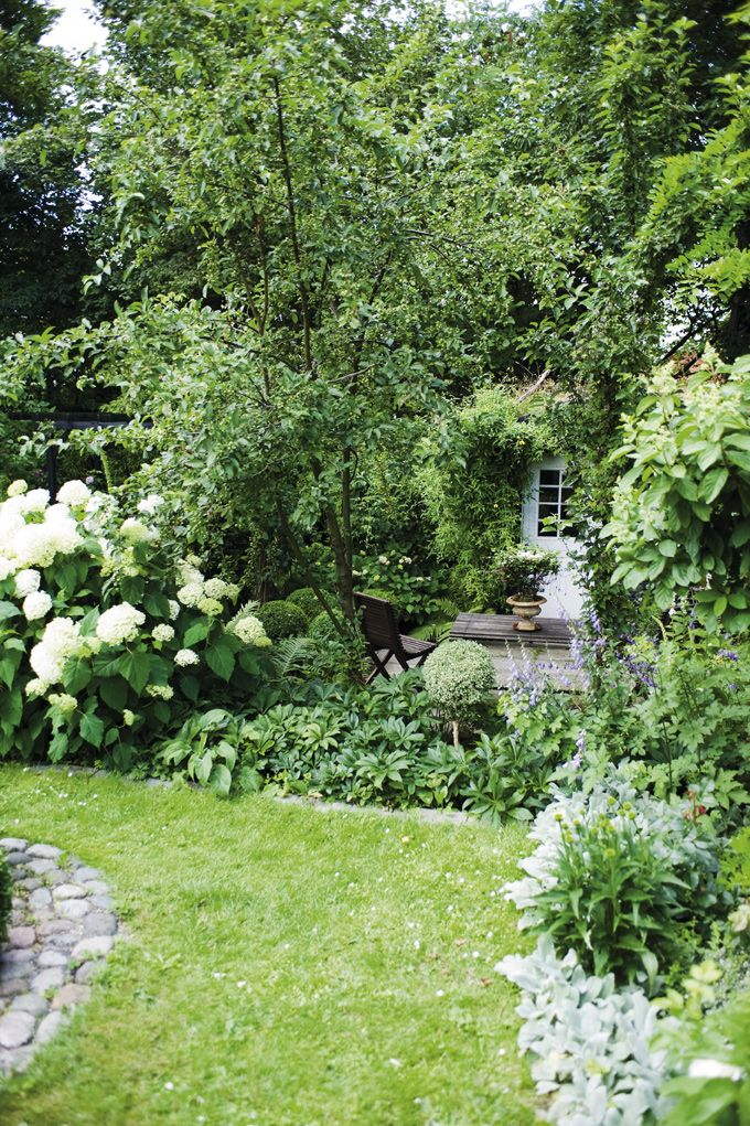 Beautiful Gardens and Hidden Sitting Area