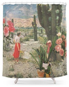 Society6 Decor Shower Curtain southwestern-shower-curtains