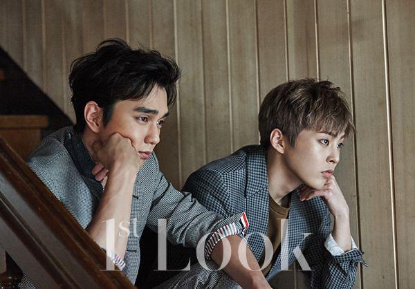 Yoo Seung Ho    and EXO's   Xiu Min   1st Look