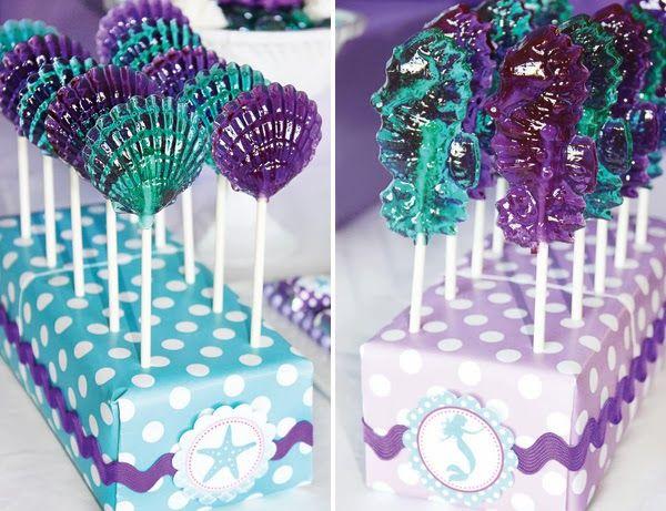 Festa de aniversário inspirada na Pequena Sereia                                                                                                                                                                                 Mais