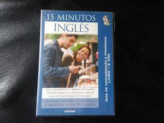 Sebo Felicia Morais: 15 minutos inglês com 02 cds- Cd-áudio-  Sem Livro...