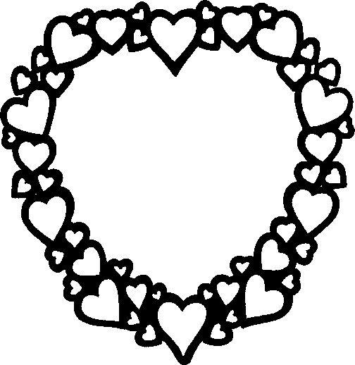 The Free SVG Blog: Heart Frame Free SVG Download