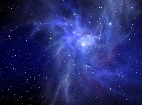 Blue Nebula | Galaxy power trips | Pinterest