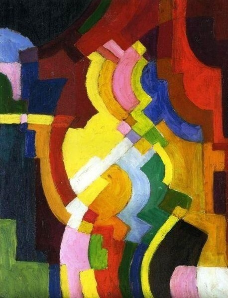It's About Time: Modern Art, August Macke, Abstract Art, Painting