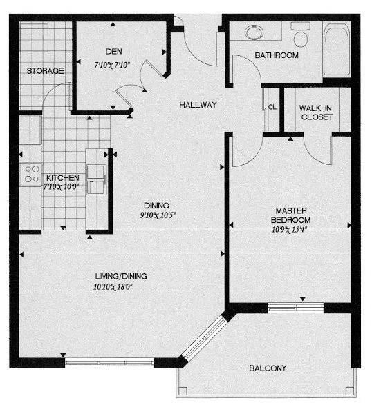 Master Bedroom Floor Plan Ideas 9