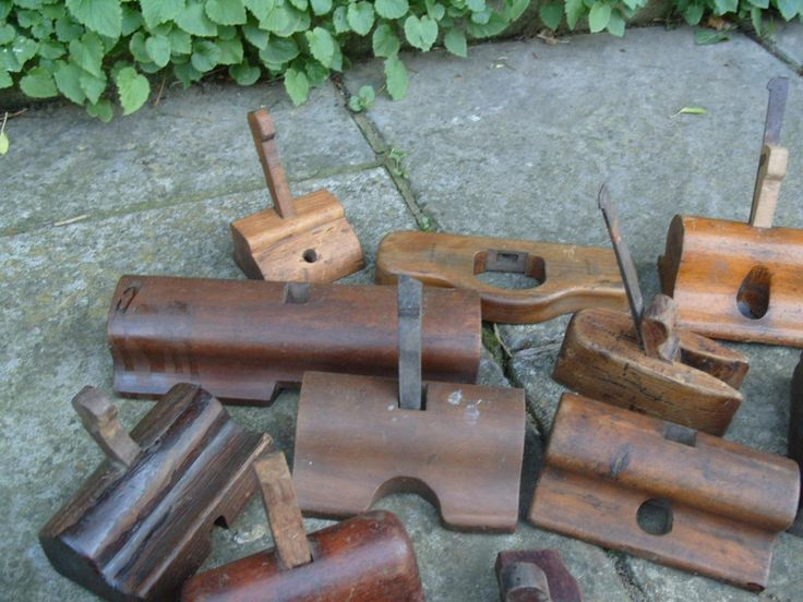 12 Wooden Hand Router Planes | eBay