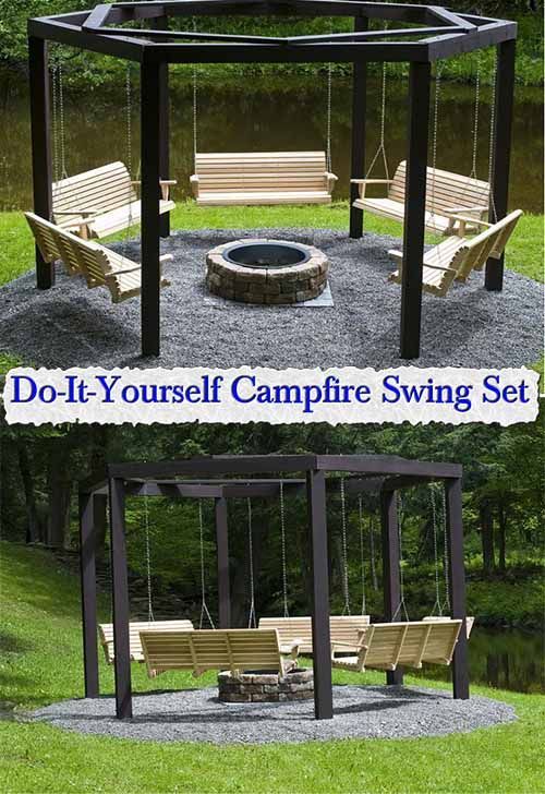 1112 best gardening and backyard images on pinterest for Do it yourself swing