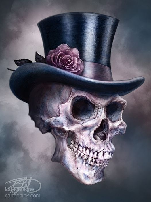 A Little Bit of Death and Darkness by Patrick LaMontagne, via Behance