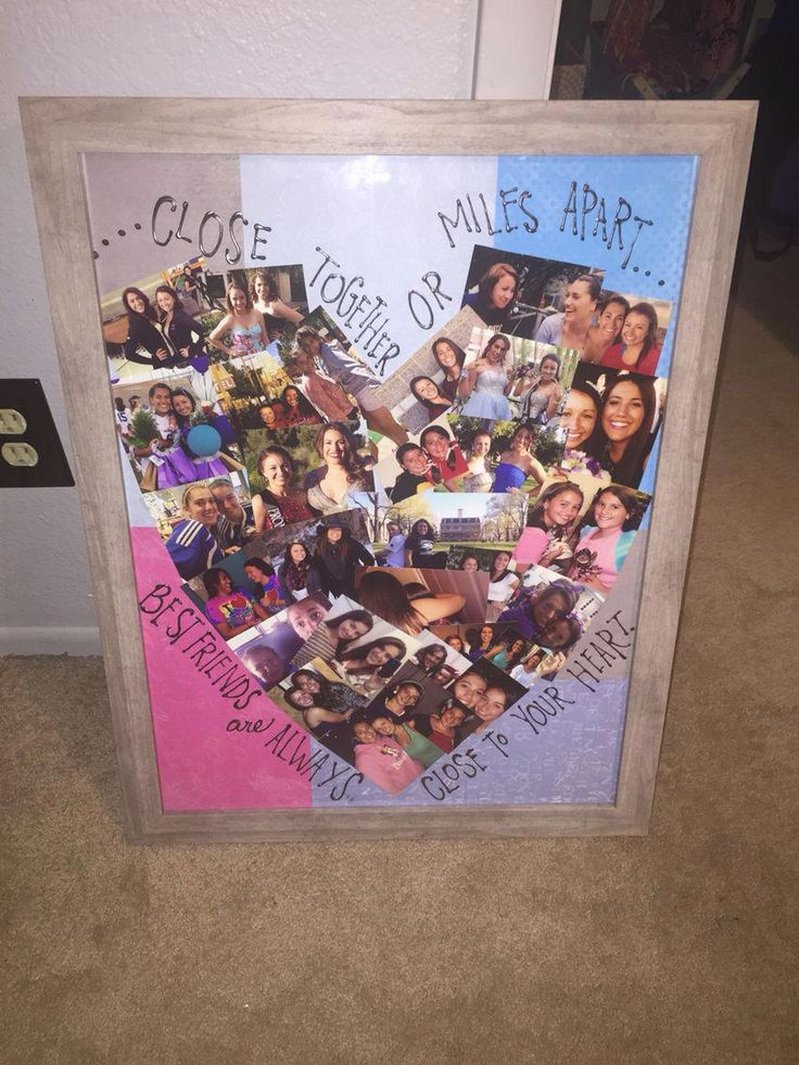 DIY Gift Ideas For Bestfriend Friend crafts, Birthday