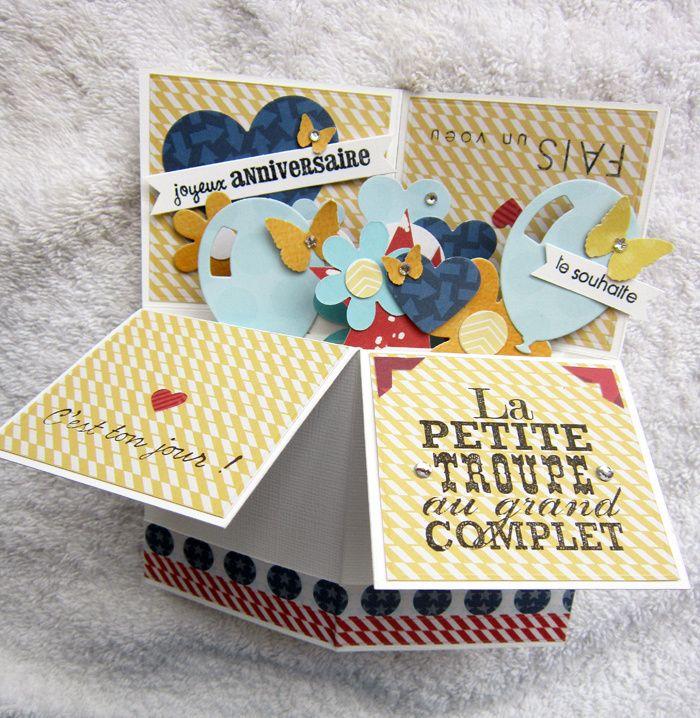 Carte-boîte pop up …