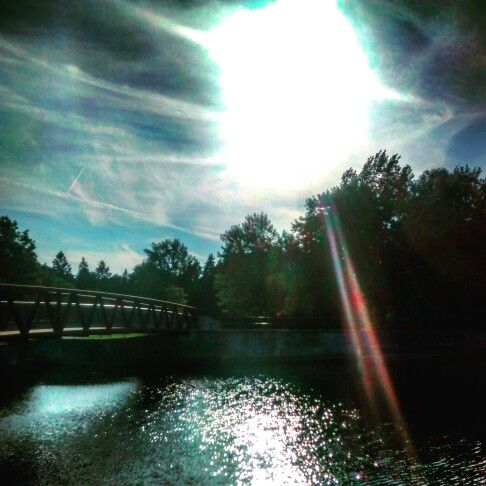 Bridge to the gate