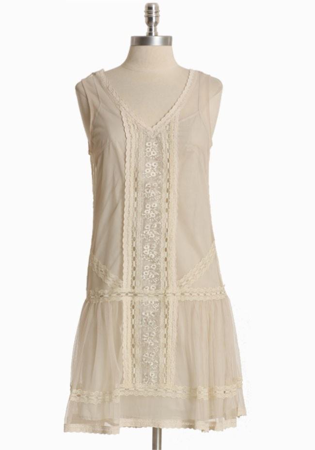 Dulcie Cotton Mesh Dress By BB Dakota | Modern Vintage Dresses