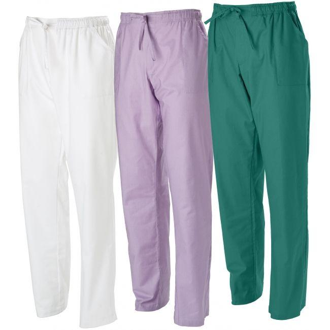 Pantalone Rodi con 3 tasche. Tessuto 60% cotone, 40% poliestere.