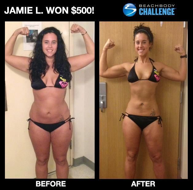 """""""In 6 months I lost 30 lbs., went from a size 14 to an 8, and for the first time in my life, I'm finally comfortable in my own skin. Gone is the bitter and angry Jamie—and here to stay is a happy, healthy, confident woman."""""""