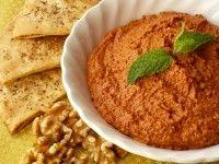 Recept Muhammara. Een heerlijke Arabische dipsaus, lekker met Turks brood.