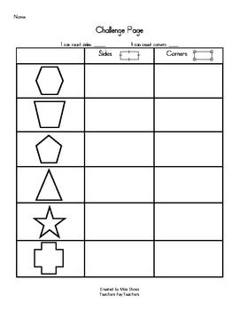 57 Best images about Math - Shapes on Pinterest | Activities ...