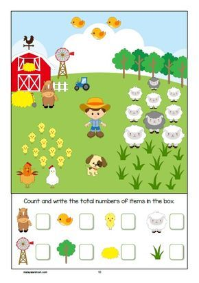 Farm Printable Pack Free Activity Sheet For Pre K K1 K2 Read More Malaysianmom C Math Activities Preschool Activity Sheets For Kids Preschool Activities