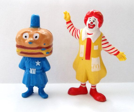 80er Jahre McDonalds Happy Meal Spielzeug