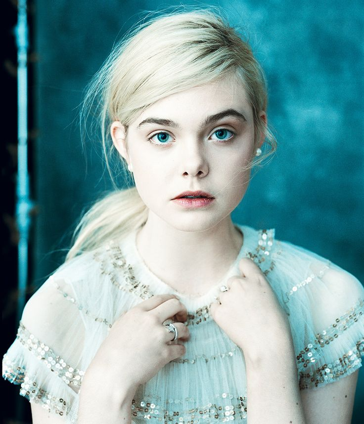 Inspiration for Christina (Cricket) Black #emergeseries // Elle Fanning by Norman Jean Roy