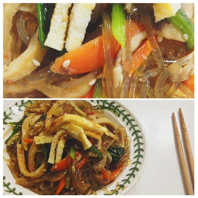 Homemade meals: Jap Chae #japchae #homemade #meals Amazing meal made by my mother. She's an amazing cook! I wish I had her skills :( #amazing #meal #mother #cook #skill