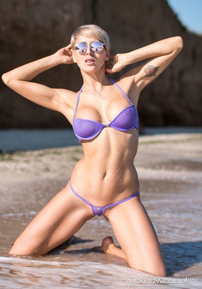 bikini Gymnast in