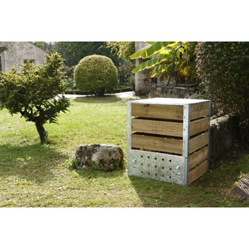 composteur monobloc guillouard capacit 470l leroy merlin a composter a real one for my. Black Bedroom Furniture Sets. Home Design Ideas