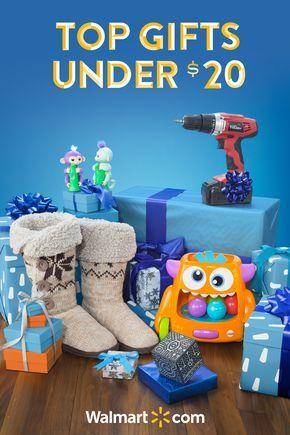 Find something for everyone on your list this year with these amazing and affordable gifts from Walmart. Shop today. Top Gifts under $20 Include: Merge VR Holo Cube, WowWee Fingerlings, Hyper Tough 18V Ni-Cd Cordless Drill, Fisher-Price Zoom 'n Crawl Monster and Women's Muk Luk Slipper Boot.