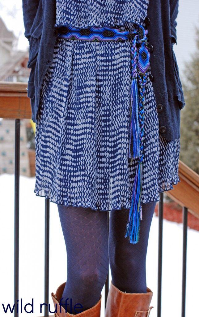 frozen inspired outfit - belt.legs