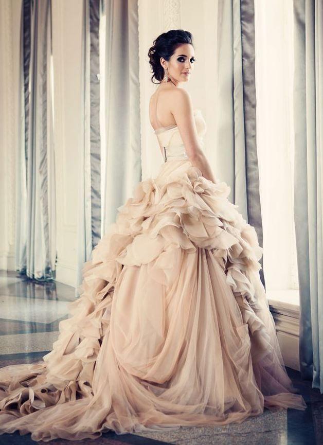 Vera wang hayley i 39 m gonna stop now wedding for Vera wang princess wedding dress