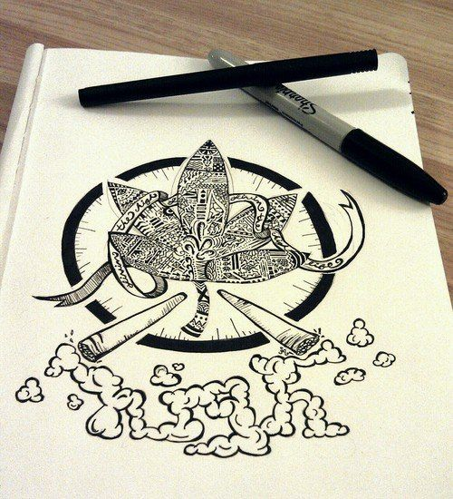 High On Weed Eyes Drawing   www.pixshark.com - Images ...