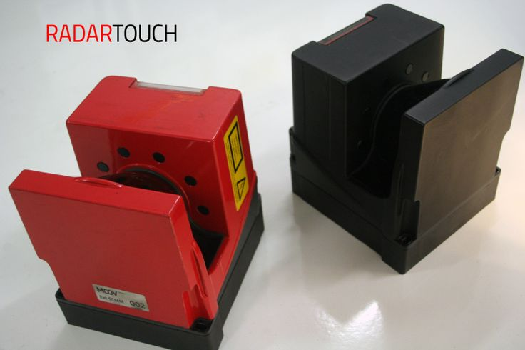 RADARTOUCH  red or black ?