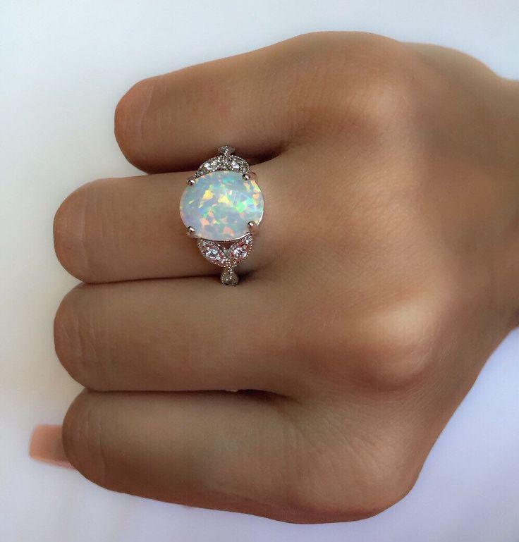 Gemstone Promise Rings